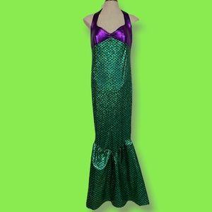 Women's XL Mermaid Full Length Halloween Costume